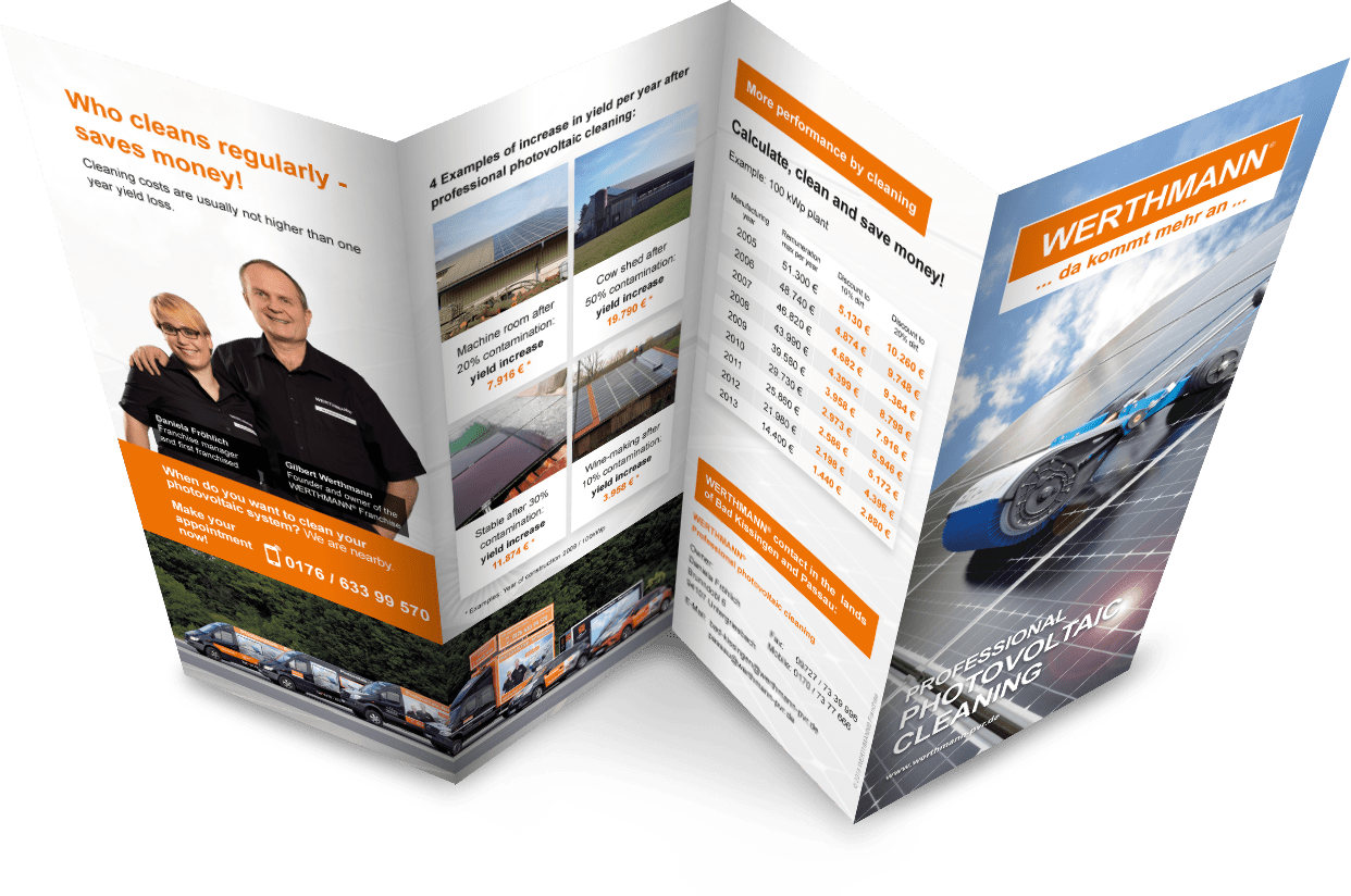 Download Professional Cleaning of Photovoltaics - WERTHMANN® Franchise
